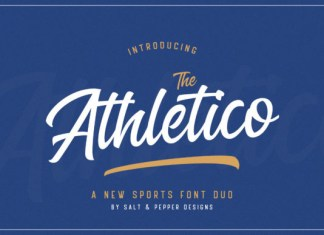 The Athletico Font