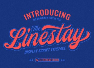 The Linestay Font