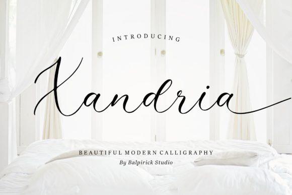 Xandria Font