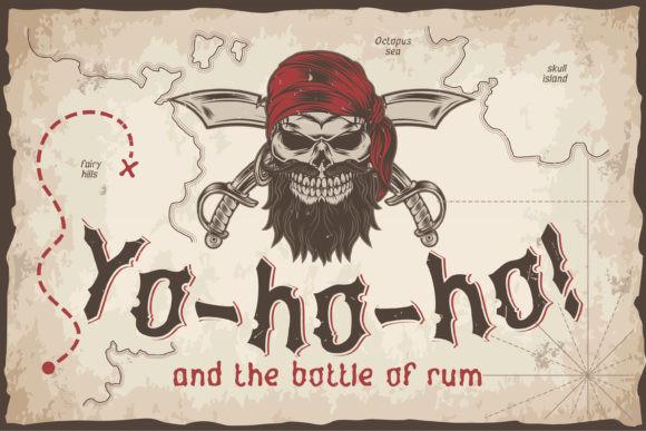 Yo-ho-ho Font
