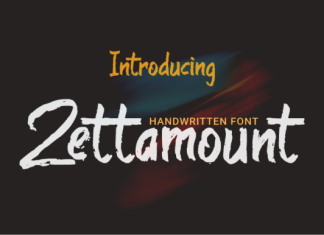 Zettamount Font
