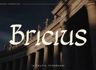 Bricius Font