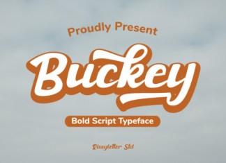 Buckey Font