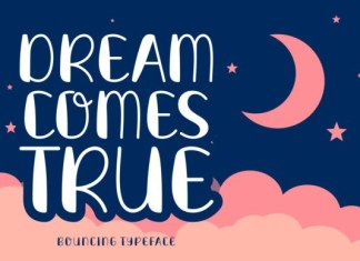 Dream Comes True Font