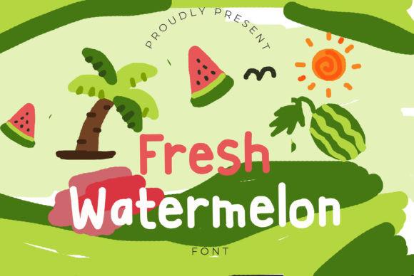 Fresh Watermelon Font
