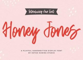 Honey Jones Font