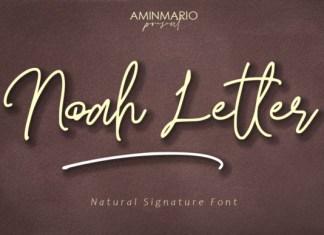 Noah Letter Font