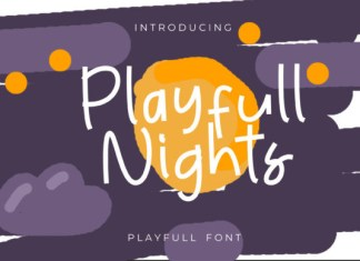 Playfull Nights Font