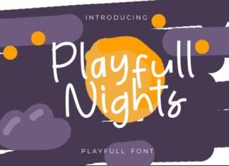Playfull Nights Font