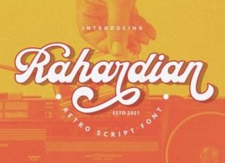 Rahardian Font