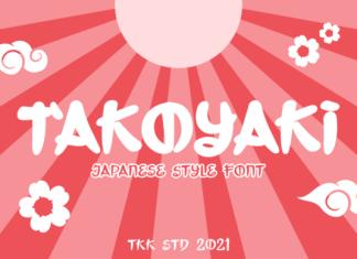 Takoyaki Font