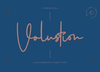 Volustion Font