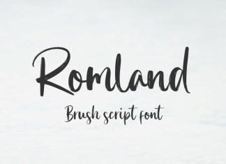 Romland Font
