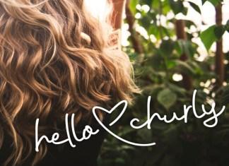 Hello Churly Font
