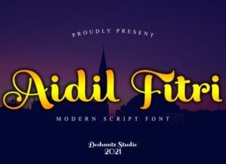 Aidil Fitri Font