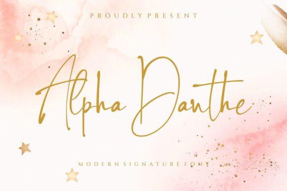 Alpha Danthe Font