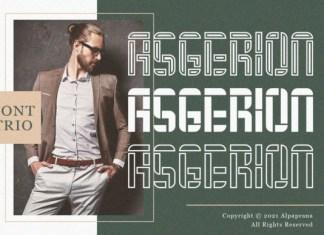 Asgerion Font