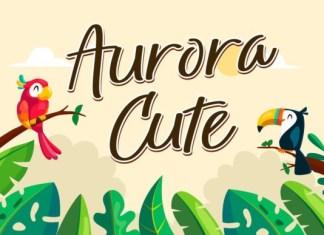 Aurora Cute Font