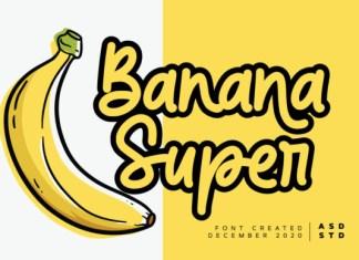 Banana Super Font