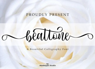 Beattone Font