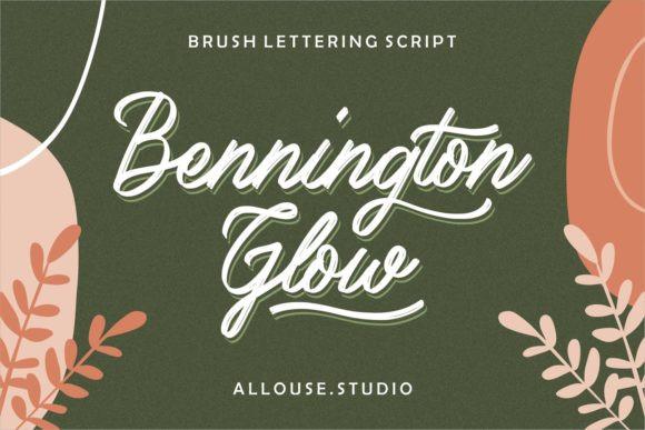 Bennington Glow Font