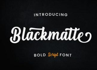 Blackmatte Font
