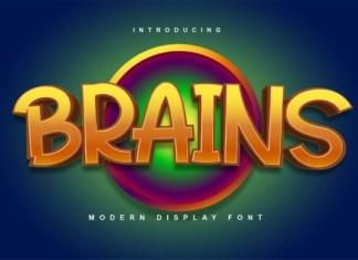 Brains Font