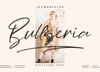 Bullgeria Font