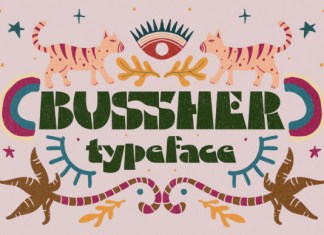 Bussher Font