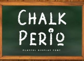 Chalk Perio Font