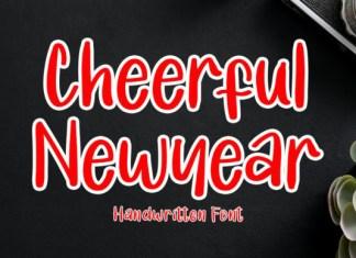 Cheerful Newyear Font