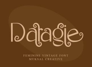Daragie Font