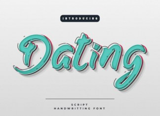 Dating Font