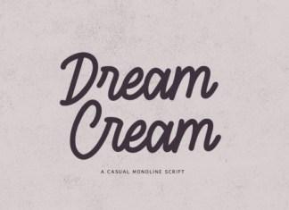 Dream Cream Font