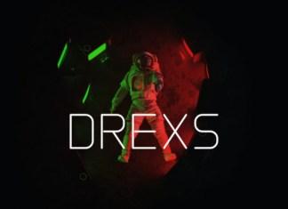 DREXS Font