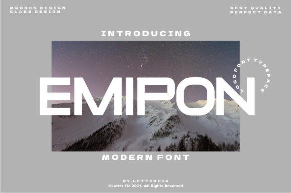 Emipon Font