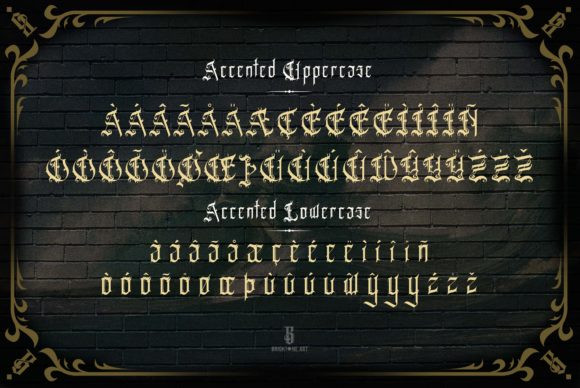Espada Del Destino Font
