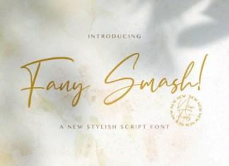 Fany Smash Font