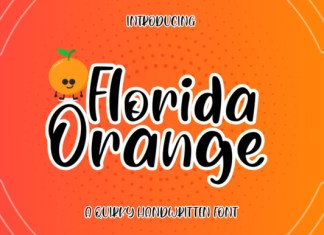 Florida Orange Font