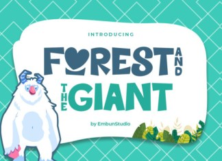 Forest And Giant Font