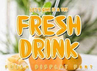 Fresh Drink Font