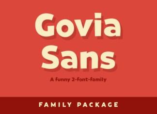 Govia Sans Font