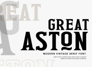 Great Aston Font