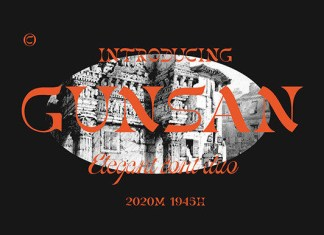 Gunsan Font