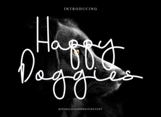 Happy Doggies Font