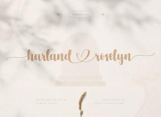 Harland Roselyn Font