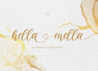 Hella Mella Font