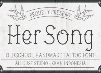 Her Song Font