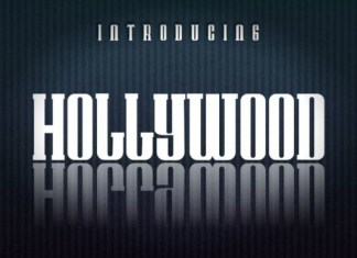 Hollywood Font