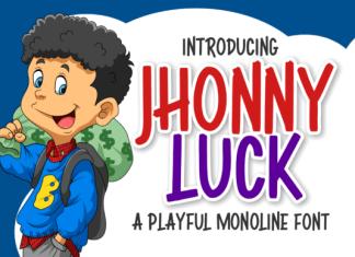 Jhonny Luck Font
